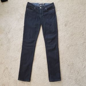 Paige skyline dark wash jean size 27